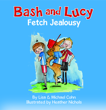 Bash and Lucy Fetch Jealousy Wins Mom's Choice Award