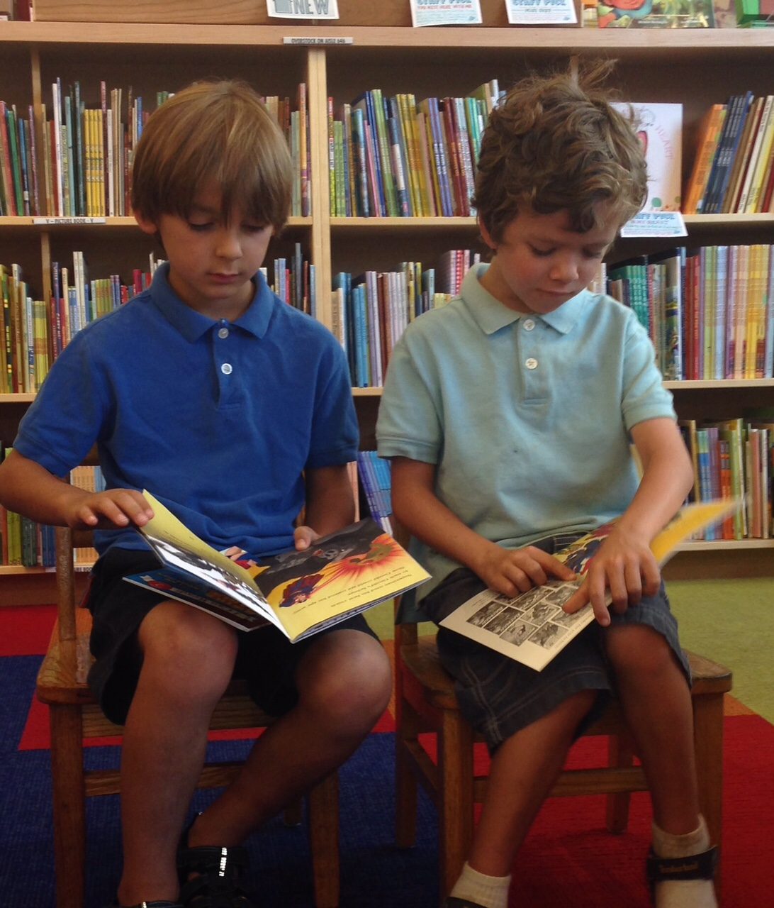 Kids Lead Kids' Book Chats